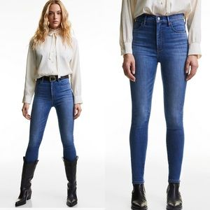 Aritzia Denim Forum the Lola jeans high rise skinny size 27